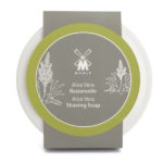 Aloe Vera Shaving Soap - Porcelain Bowl